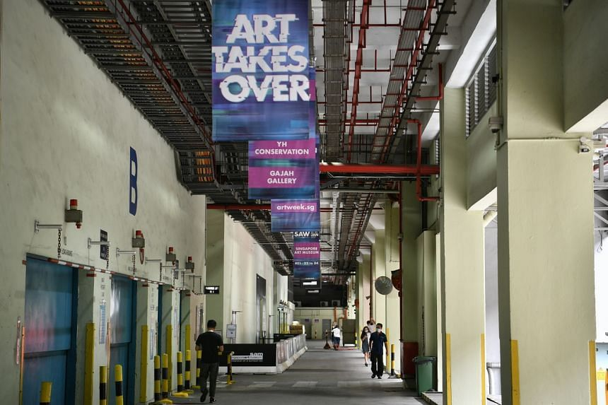 Tanjong Pagar Distripark is playing host to several Singapore Art Week events this year.