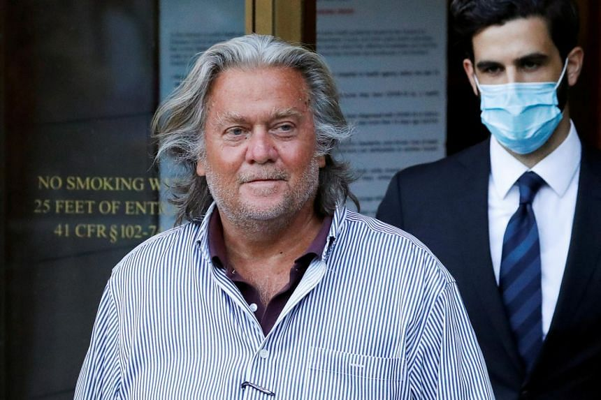 Steve Bannon can still be charged in state court in New York, where a pardon would not help him.