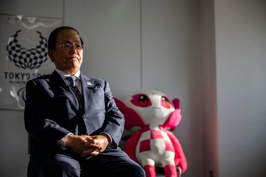 Tokyo 2020 Olympic Games CEO Toshiro Muto speaking during an interview in Tokyo, on Jan 19, 2021.