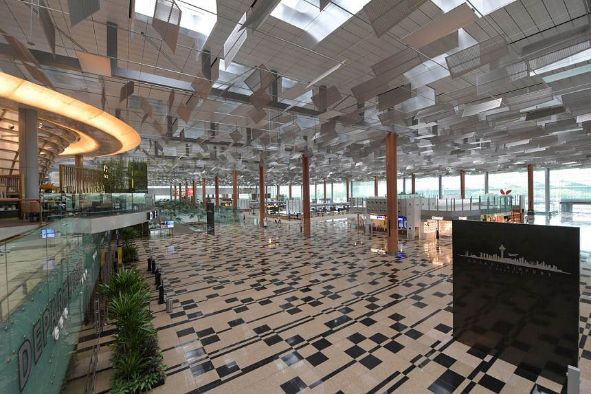 Changi Airport handled 11.8 million passengers last year.