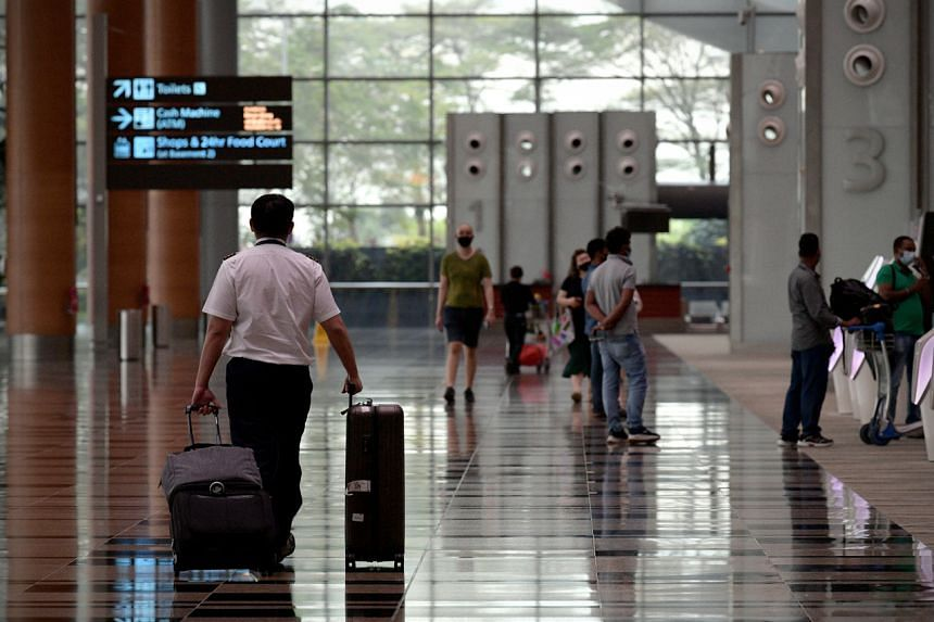 The airport was hit hardest during the circuit breaker months of April and May.