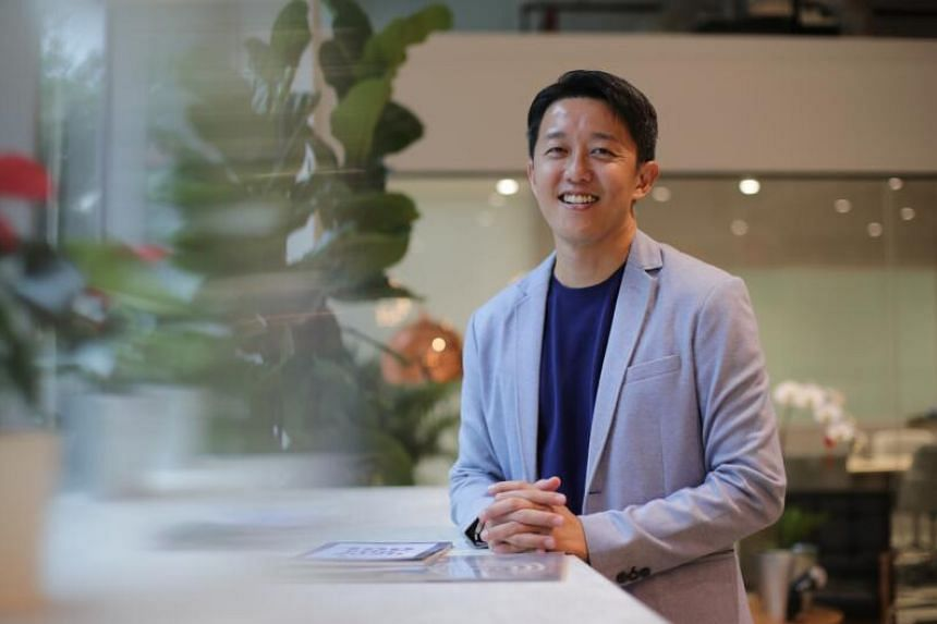 TablePointer founder, Jason Tang at ENGIE Factory Asia-Pacific office on Jan 19, 2021.