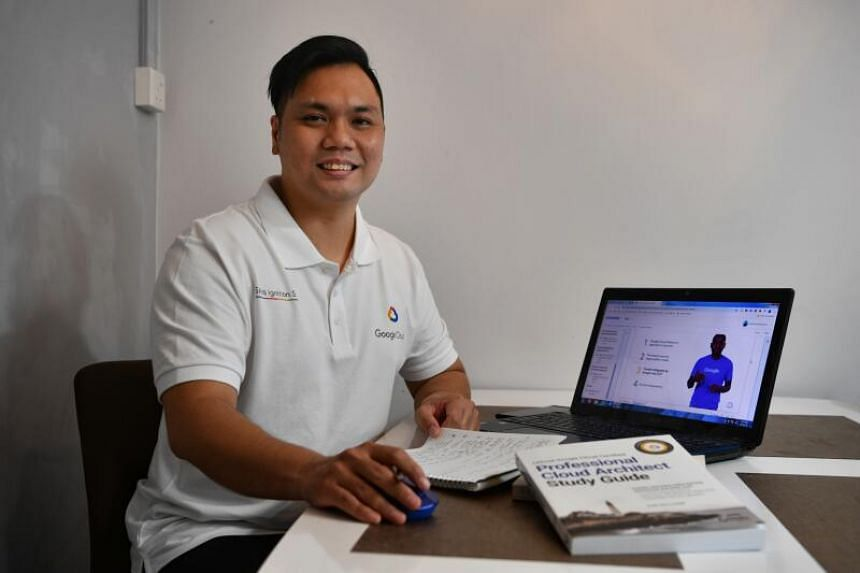 Mr Muhammad Khairunnizam Lukman is one of 1,650 locals who started a training programme overseen by tech giant Google.
