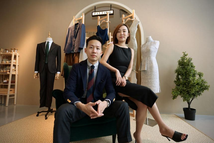 Husband-wife duo Ken Zhou and Lyn Kua of menswear tailoring outfit Assemble launched a sister brand Accent last year.
