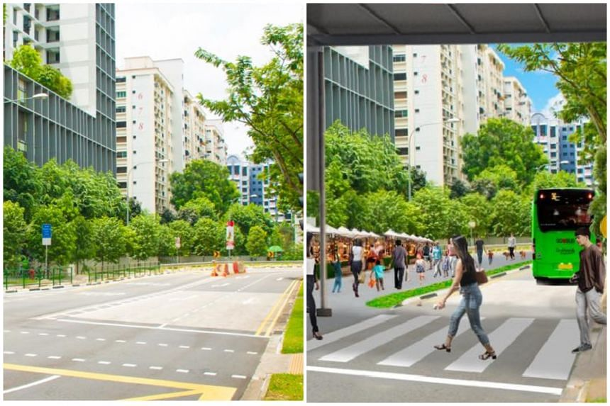The pedestrianisation will give residents and students from nearby schools more space to walk and cycle.