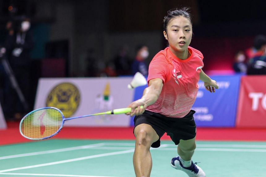 Yeo Jia Min was the only Singaporean player to advance beyond the first round at the Toyota Thailand Open.