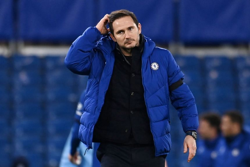 Lampard is under the microscope after the club spent more than £200 million (S$360 million) to rebuild the squad.