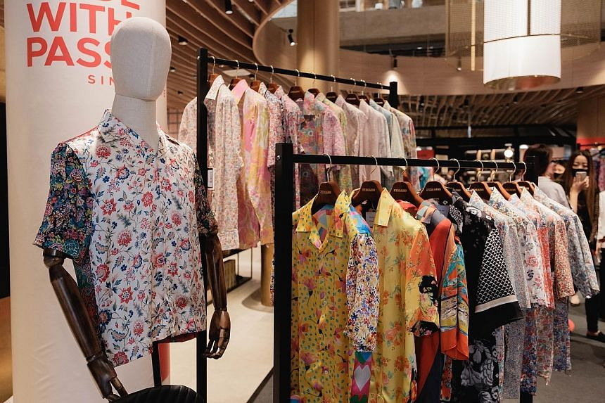 Start on your Chinese New Year shopping with a shirt from a collection by singer-songwriter Lee.