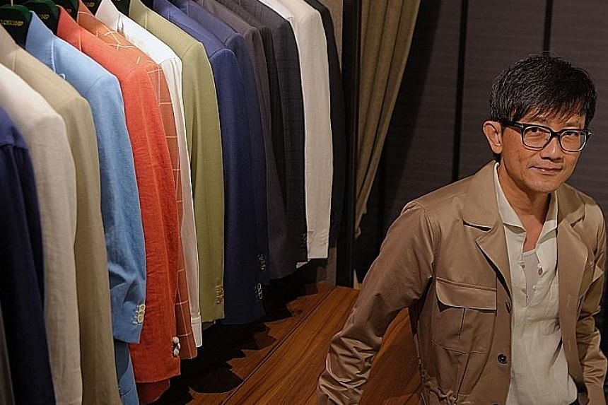 Closeknip co-founder Leslie Chia has pioneered what he calls a hybrid system of ready-to-wear and made-to-measure suiting.