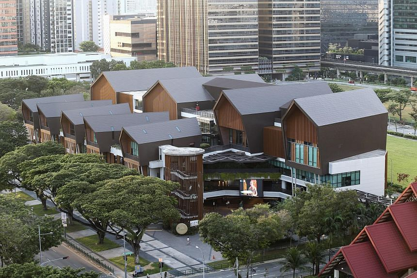 The redeveloped landmarks will become the focal point of the Geylang Serai cultural belt.