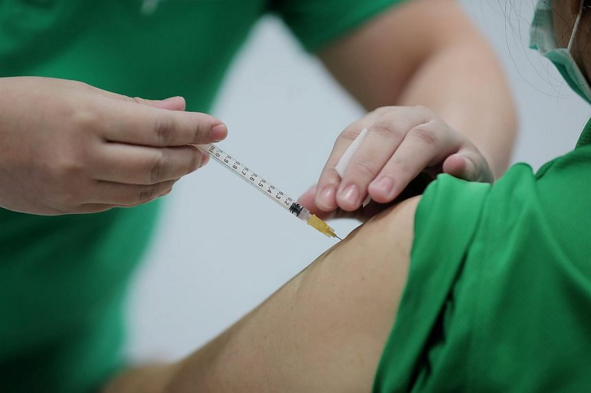 The number of those who have been vaccinated is expected to rise substantially in the coming weeks, said MOH on Jan 22, 2021.