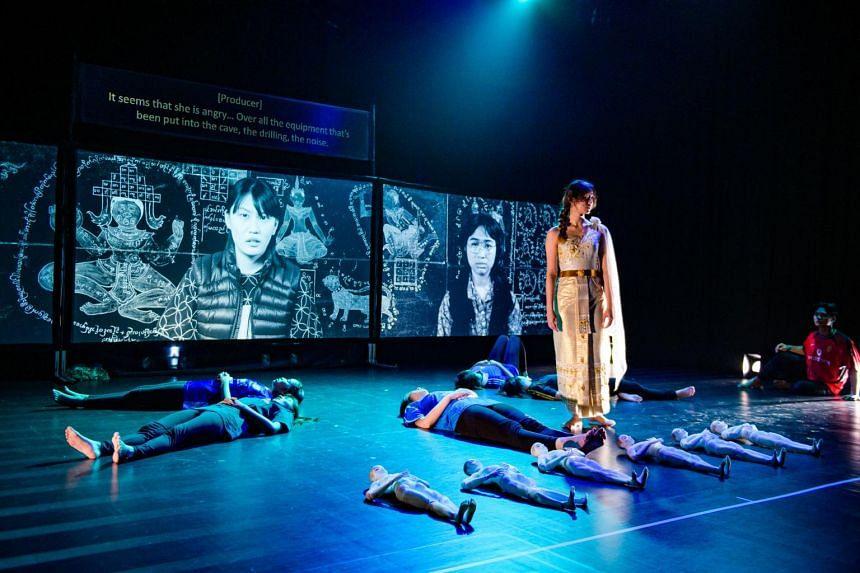 Havoc Girls And Kamikaze Boys boasts slick multimedia visuals.
