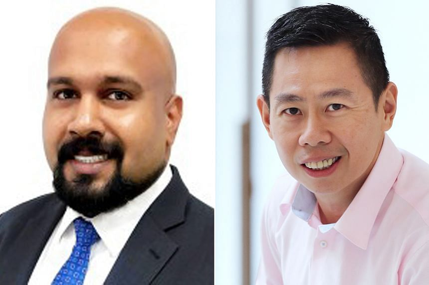 MR JANESH JANARDHANAN (left) and MR KEE WEE NG (right).
