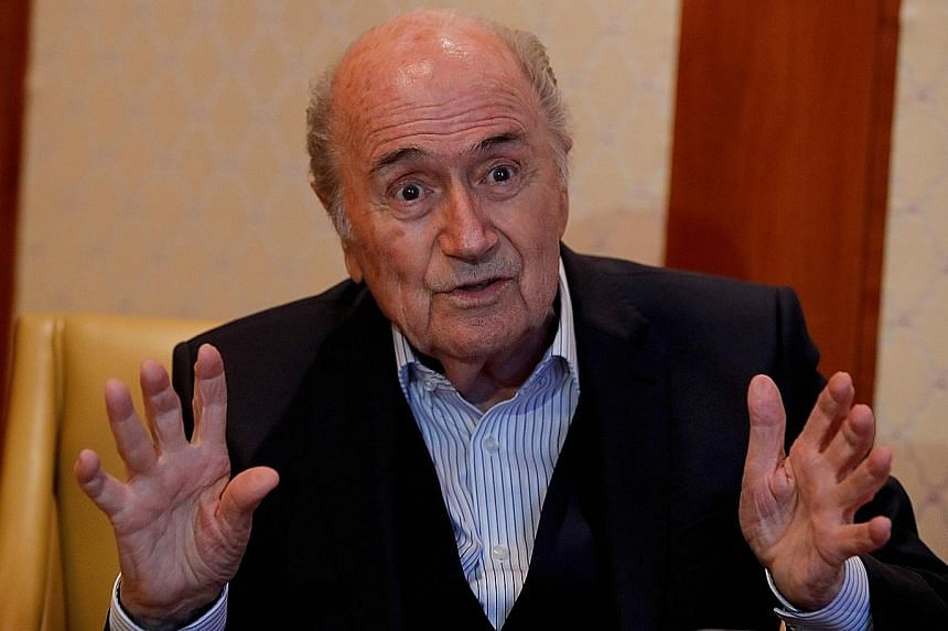 Sepp Blatter was accused of paying for his former deputy's use of a private jet in 2007.