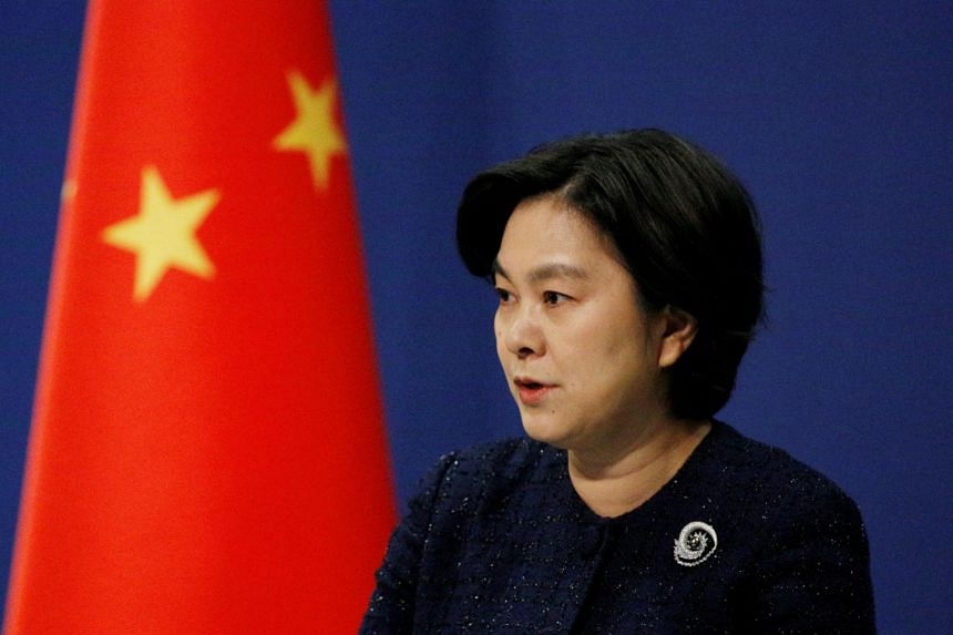 Ms Hua Chunying said that China will remain committed to upholding peace and stability in the sea.