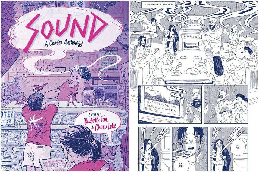 Sound: A Comics Anthology features 13 stories by 20 creators from across the region.
