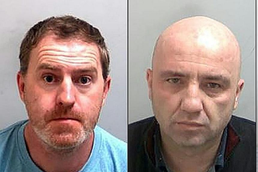 The four found guilty of manslaughter and immigration offences are (from left) Ronan Hughes, Gheorghe Nica, Maurice Robinson and Eamonn Harrison.
