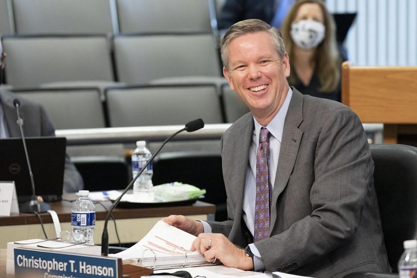 Christopher Hanson has been a Democratic commissioner of the Nuclear Regulatory Commission since June 2020.