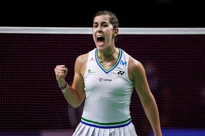 Carolina Marin went into the finals without losing a single game.