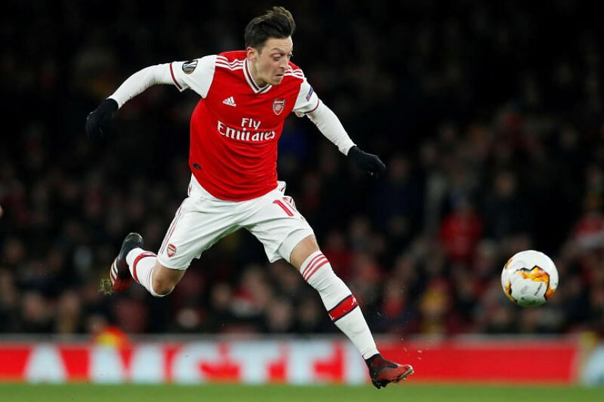Mesut Ozil had fallen out of favour at Arsenal.