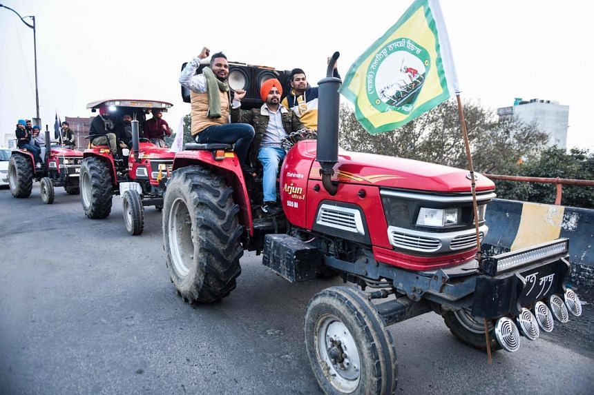 A farmers' group exhorted its members to refrain from violence.