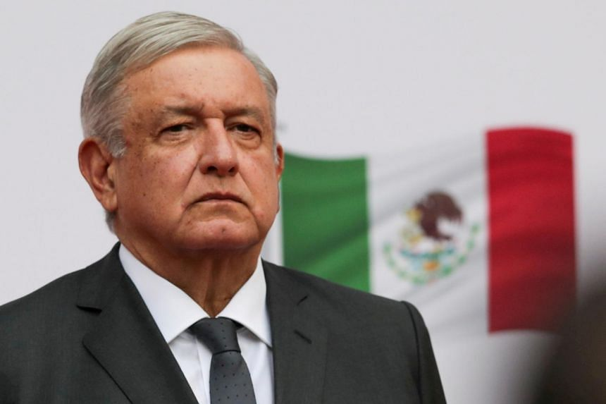 Mexican President Lopez Obrador said symptoms were light and that he was receiving medical treatment.