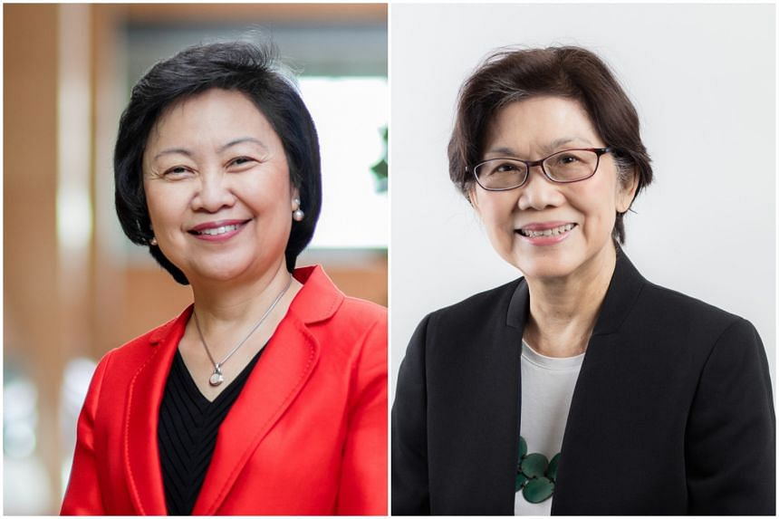Dr Cheong Koon Hean (left) will be taking over as chairman of SUTD's Lee Kuan Yew Centre for Innovative Cities from Professor Chan Heng Chee in June.