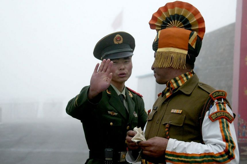 The incident happened last week at the Naku La pass in Sikkim state.