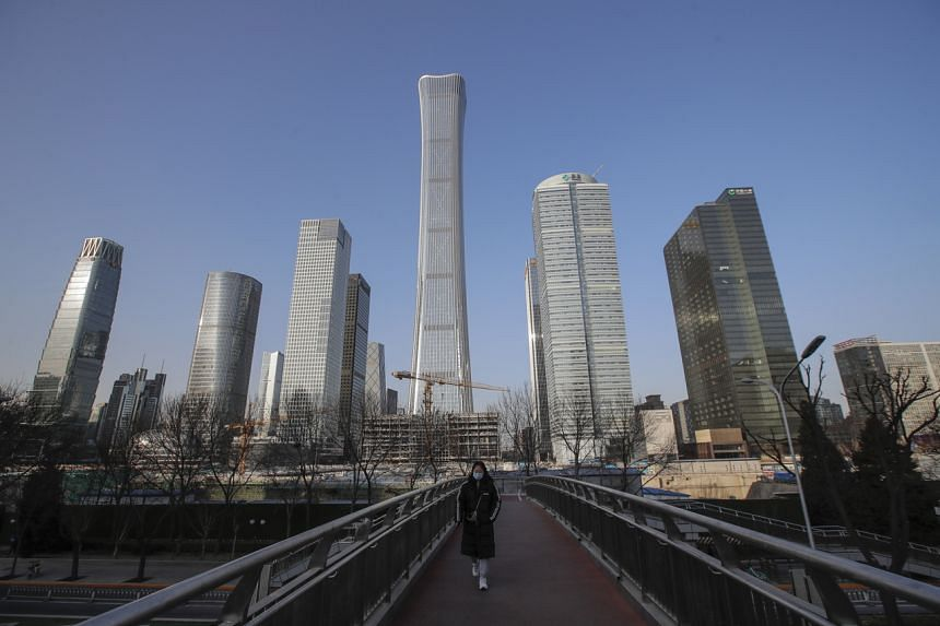 China's gross domestic product grew 2.3 per cent in 2020.