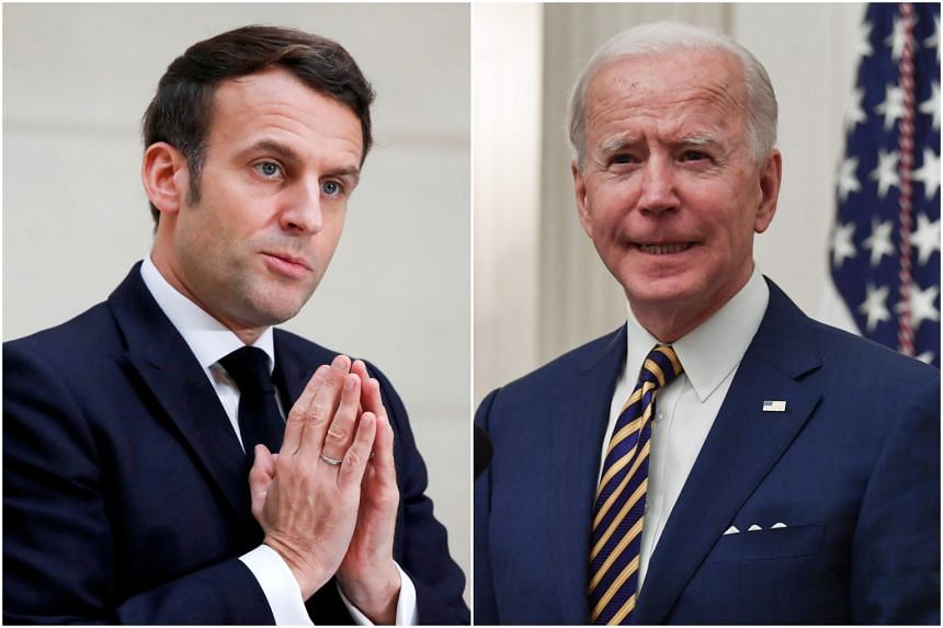 French President Emmanuel Macron had lauded US President Joe Biden's decision to return to the Paris climate accord.