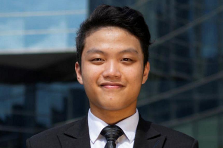Accountancy graduate Kenneth Kwek did three internships while at NTU.