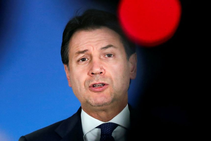 Italian Prime Minister Giuseppe Conte has been in office since June 2018.