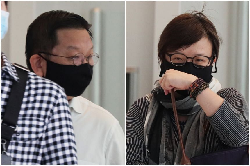 Jeffrey Ho Kiat and Ng Sok Luan were each slapped with 12 counts of cheating.