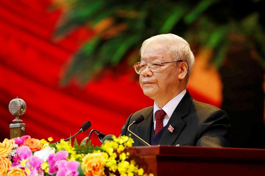 Vietnam's ruling Communist Party chief Nguyen Phu Trong hailed booming economic development and containment of the Covid-19 pandemic as major achievements.