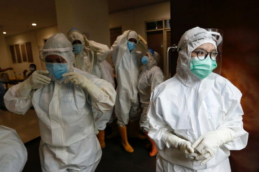Hospitals in Indonesia are facing escalating pressure from the pandemic.
