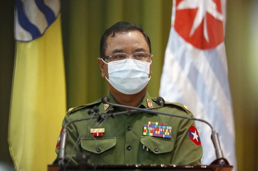 Military spokesman Major General Zaw Min Tun renewed calls for the country's embattled election commission to provide final voter lists for cross-checking.