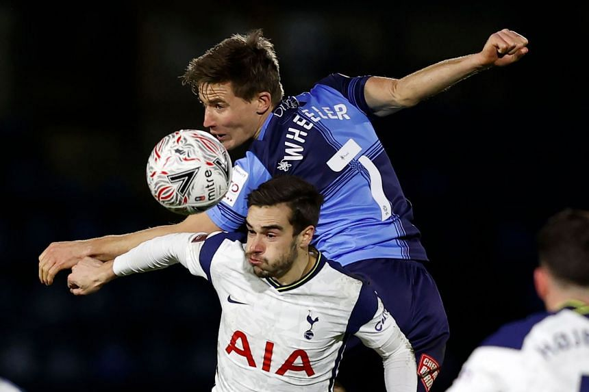 Mourinho's Spurs survive Wycombe Wanderers scare to set up Manchester United tie
