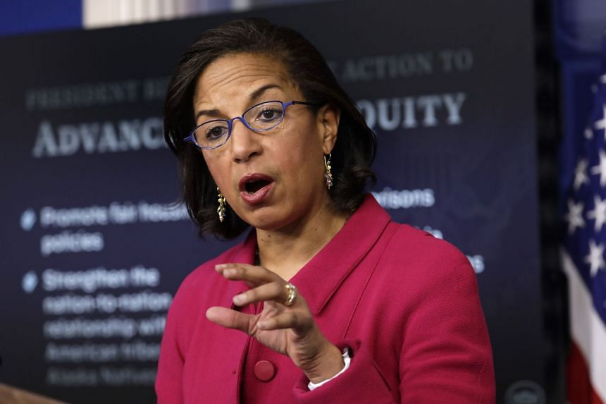 Susan Rice speaks during a news conference at the White House on Jan 26, 2021.