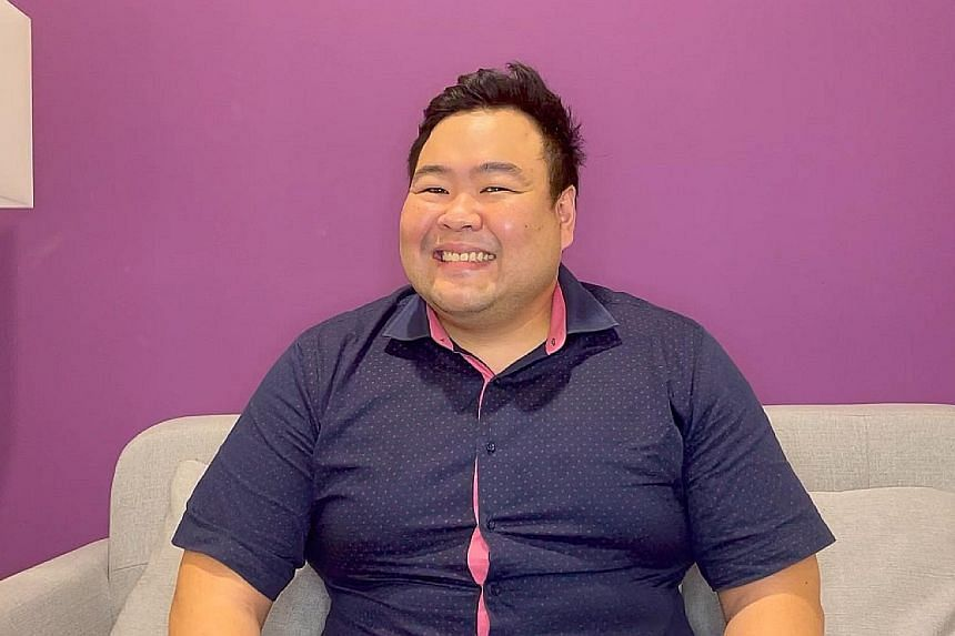 Mr Chua Wei Lun (above), a seller engagement team leader at Lazada.