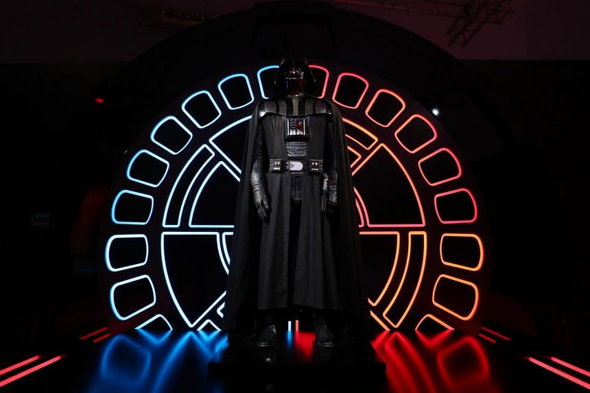 The costume worn by David Prowse as Darth Vader.