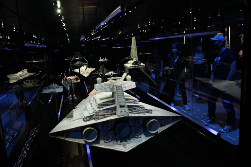 The signature vessel of the Imperial fleet, the Star Destroyer was first seen chasing Princess Leia's Blockade Runner at the beginning of Star Wars.