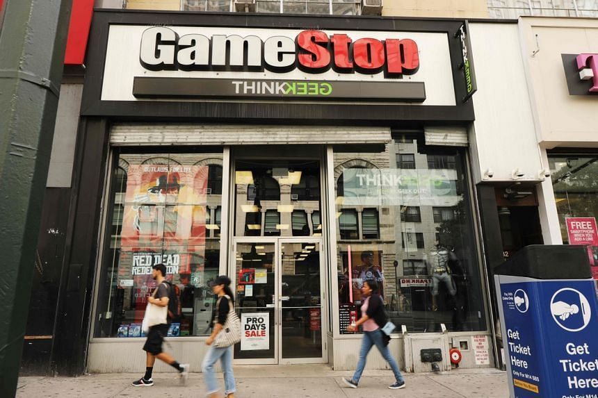 GameStop is now worth more than 10 per cent of S&P 500.