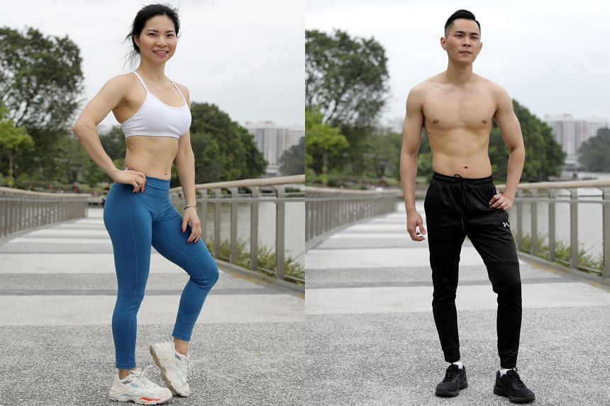Zhang Ling and Jack Ong