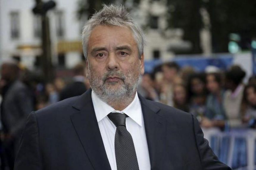 French film director Luc Besson.