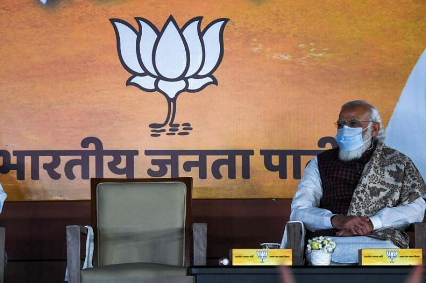 Prime Minister Narendra Modi remains the face of the BJP's election campaign in Tamil Nadu and West Bengal.