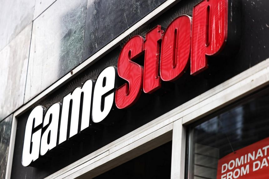GameStop, up fivefold in three days, tumbled 37 per cent as of 7pm in New York.