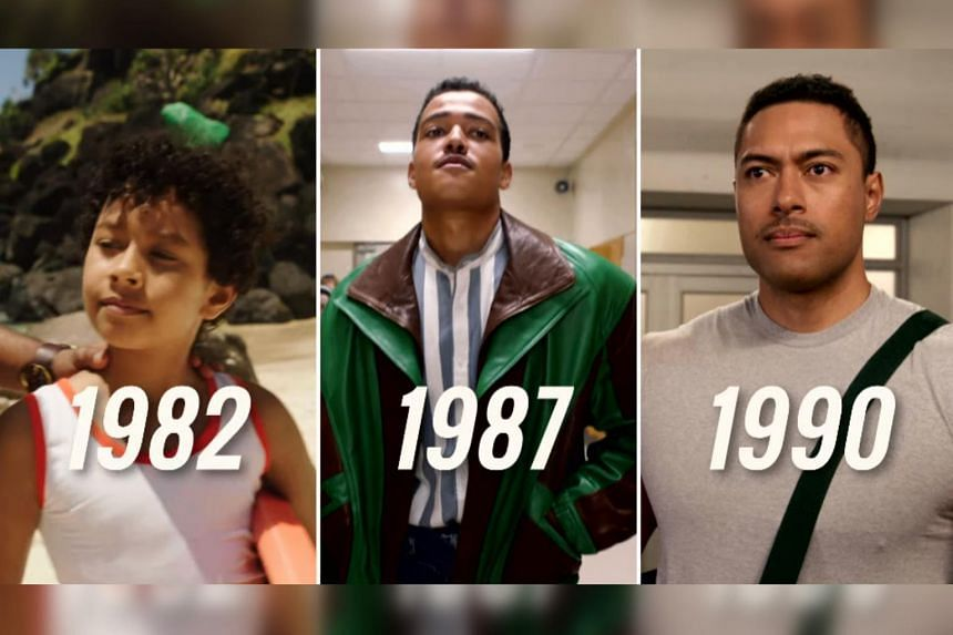 In Young Rock, Dwayne Johnson is played by three actors at age 10, 15 and 18.