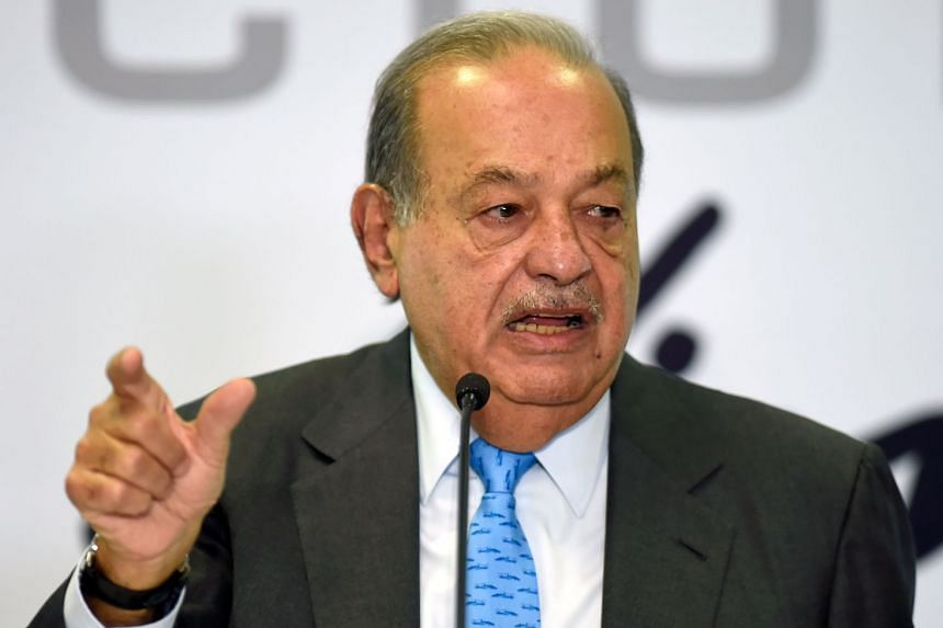 Carlos Slim (above) is Mexico's wealthiest man.