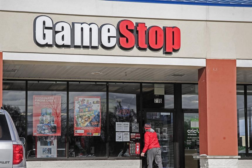 GameStop surged 18 per cent on Monday (Jan 25), another 115 per cent on Tuesday and had leapt 135 per cent on Wednesday.