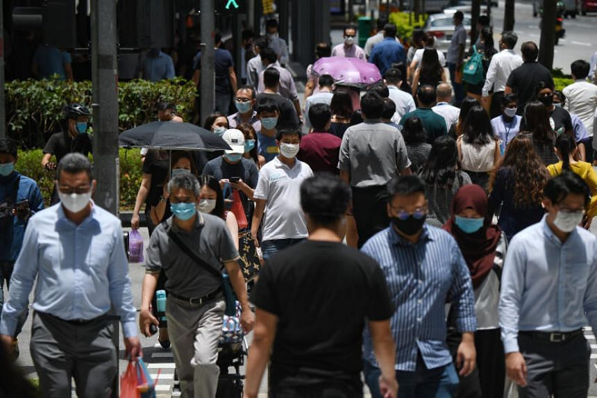 Singapore is working to prevent a situation of massive job loss and disruption.